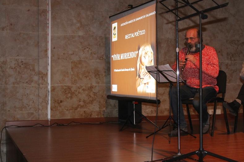 Recital poético «Vivir muriendo»  en homenaje al V Centenario de Sta. Teresa