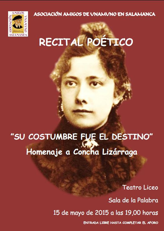 Recital poesia Concha-Lizárraga