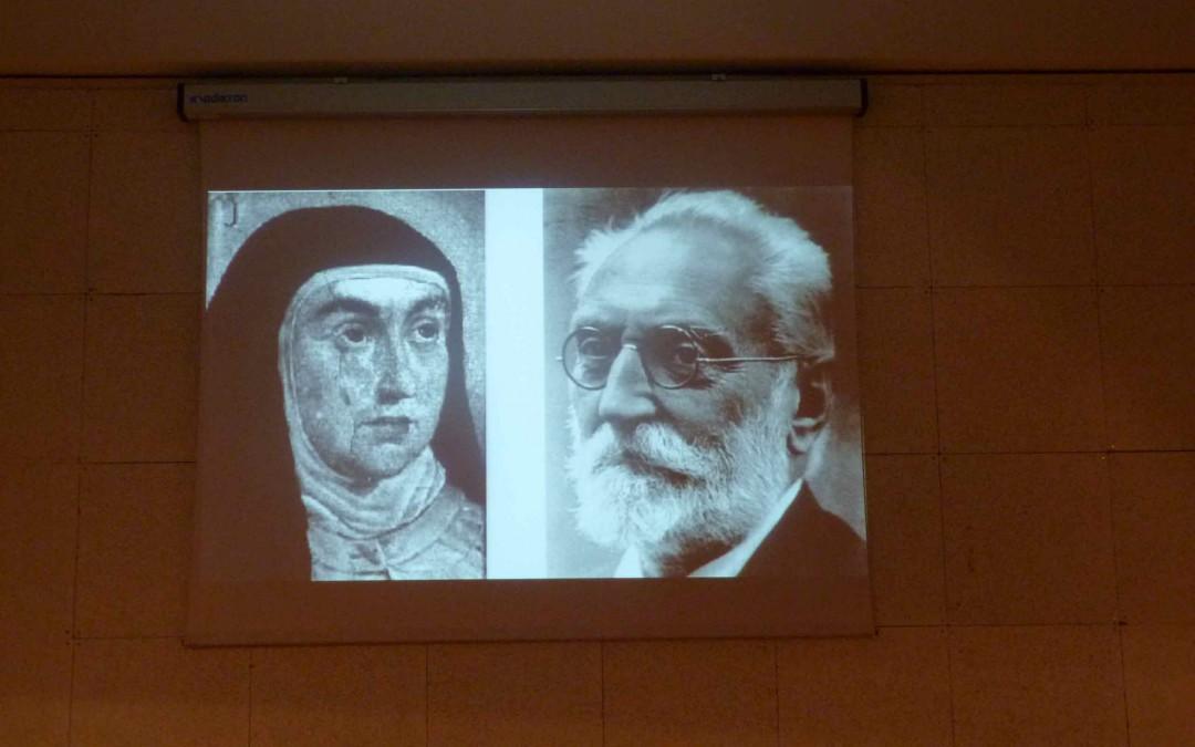 Unamuno y Santa Teresa al encuentro
