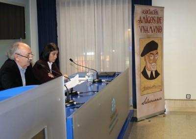 Antonio Colinas y Elena Díaz Santana