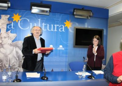 Antonio Colinas. Final de conferencia