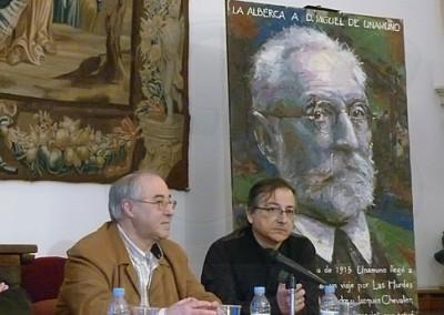 José Luis Puerto y Miguel Elias