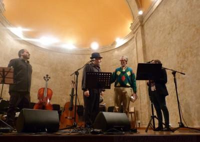 Néstor Paz Madrid, Manuel Madrid, Fco. Blanco, Teresa Madrid