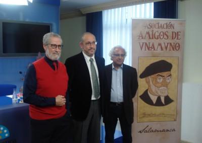 Francisco Blanco Prieto, Javier Pardo García y Luis Andrés Marcos