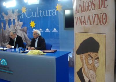 Javier Pardo García con Luis Andrés Marcos