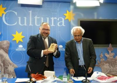 Manuel Romero Luque con Luis Andrés Marcos