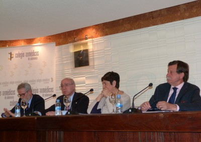 Francisco Blanco Prieto, Manuel Gómez Benito, Consuelo del Cañizo y Juan Antonio González González
