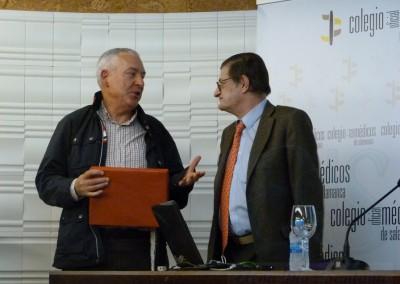 Juis Guriérrez Barrio y Agustín del Cañizo Álvarez