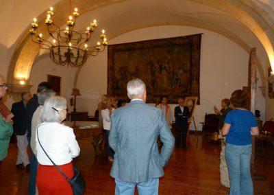 En el Salón Recoral - Casa Museo Unamuno
