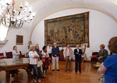 En el Salón Rectoral - Casa Museo Unamuno