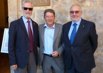 Francisco Blanco Prieto, Pablo Unamuno y Benito Blanco Prieto