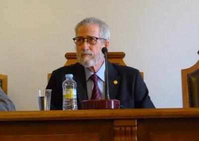 Francisco Blanco en la conferencia: Unamuno, profesor y rector