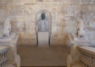 Busto M. Unamuno. Facultad filología. (Victorio Macho)