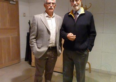 Jesús Gómez Blázquez y Francisco Blanco Prieto