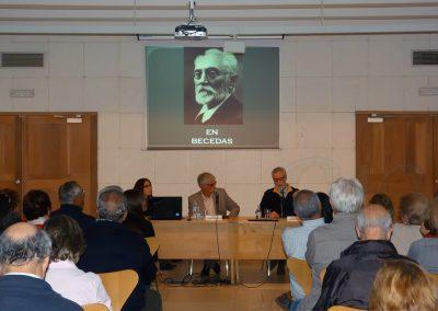 Conferencia Unamuno en Becedas