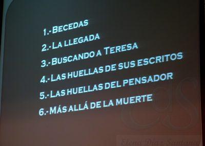 Parte de presentación, Unamuno en Becedas