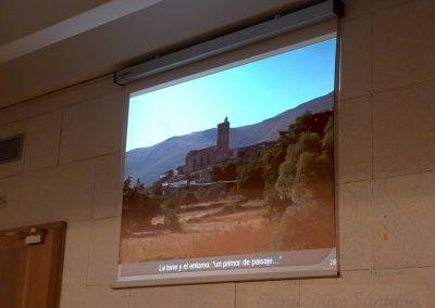 Vista de Becedas. Conferencia Unamuno en Becedas