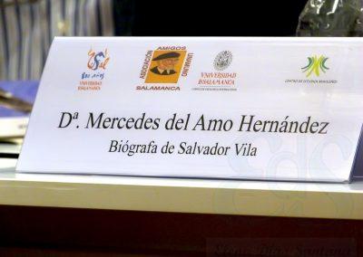 Conferencia. Mercedes del Amo