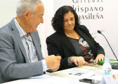 Mercedes del Amo y Luis Gutiérrez