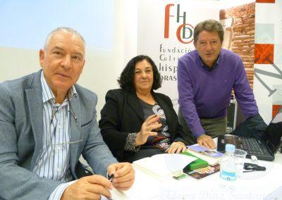 Mercedes del Amo, Luis Gutiérrez y Pablo Unamuno