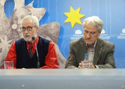 Francisco Blanco y Jesús Málaga