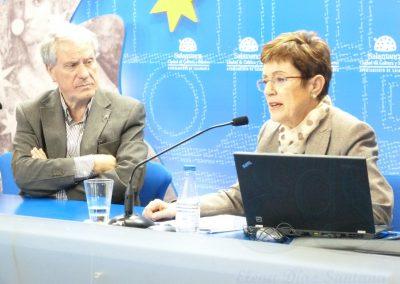 María Jesús Mancho Duque con Jesús Málaga