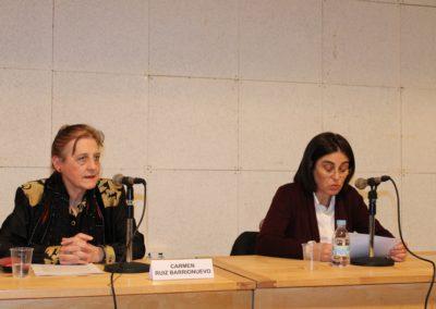 Carmen Ruiz Barrionuevo y Elena Díaz Santana