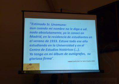 Conferencia Unamuno y la mujer