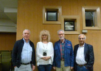 Luis Gutiiérrez, Francisco Blanco - Mayte Conesa, Francisco Blanco y Luis Andrés Marcos