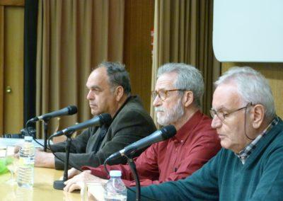 J.Amador Martín, Francisco Blanco y J.M. Sánchez Terrones