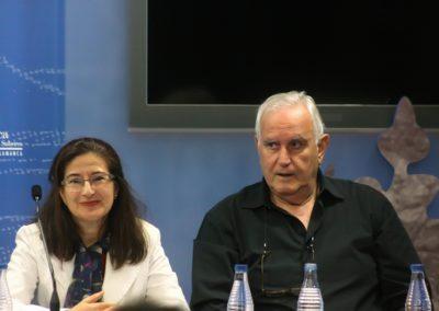 Mª Jesús Monforte Britos y José Mª Sánchez Terrones