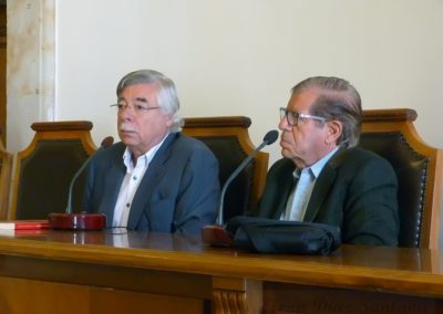 José María Balcells y Román Álavarez