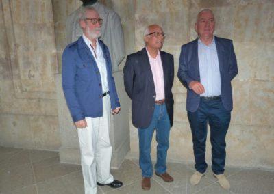 Francisco Blanco, Luis Andrés Marcos y Luis Gutiérrez