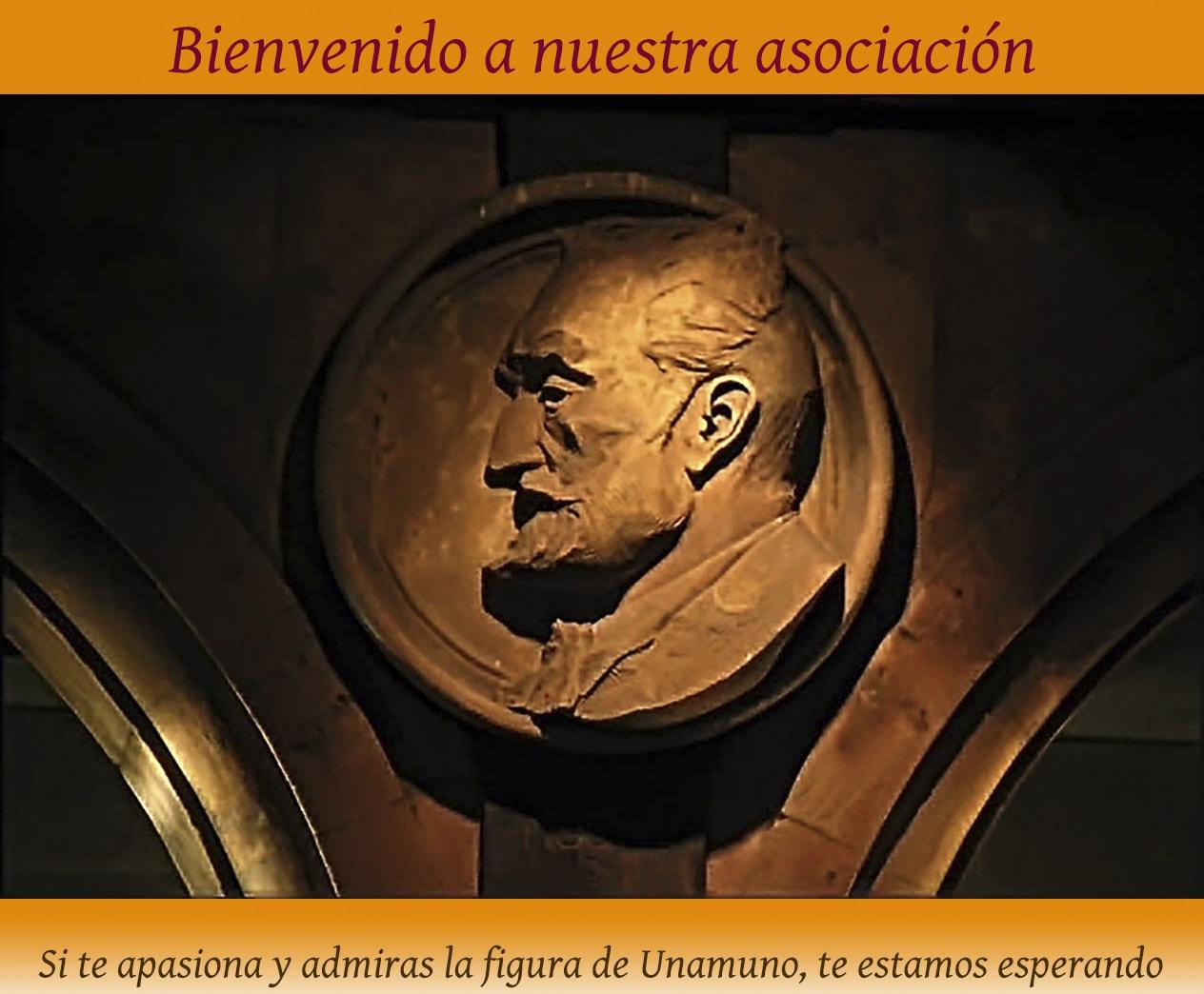 Medallón Plaza Mayor. Miguel de Unamuno