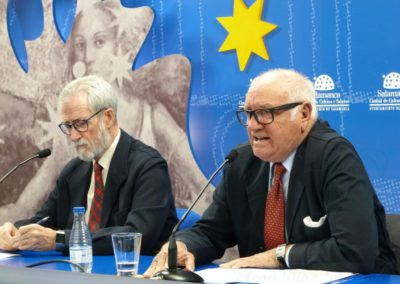 Francisco Blanco Prieto y Fernando Gómez de Liaño
