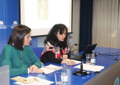 Elena Díaz Santana y Anna Mª Paredes Arnáiz