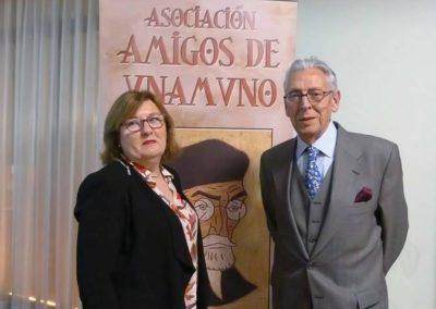 Pilar Hernández Romeo y Alfonso Saiz Valdivieso