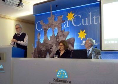 Francisco Blanco, Pilar Hernández Romeo y Alfonso Saiz Valdivieso