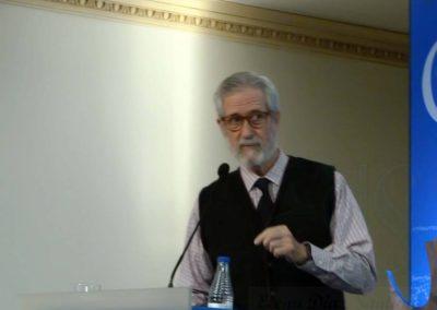 Francisco Blanco. Presidente de Amigos de Unamuno