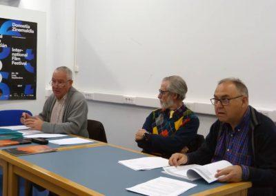 Luis Gutiérrez, Francisco Blanco y Antonio de Miguel