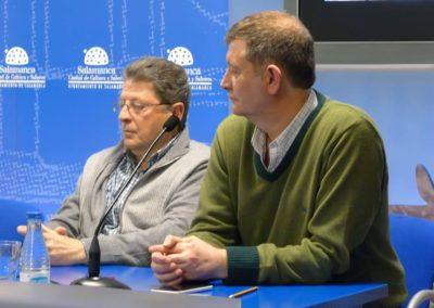 Pablo Unamuno y Alberto Bescós