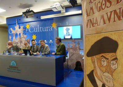 Luis Gutiérrez, Francisco Blanco, Julio López Revuelta, Pablo Unamuno y Alberto Bescós