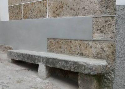 cantón o poyo donde se sentaba Unamuno