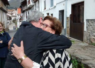 Francisco Blanco con Ana María Carrón
