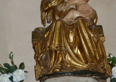 Virgen de la leche. Iglesia  de la Purísima Concepción  - Becedas
