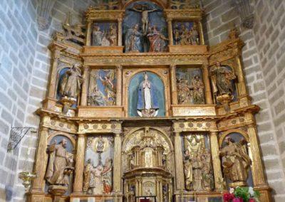 Retablo Iglesia  de la Purísima Concepción - Becedas