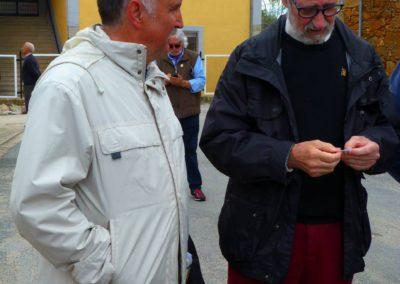 Salvador Sánchez, Alcalde de Becedas con Francisco Blanco