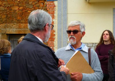Francisco Blanco con Jesús Gómez
