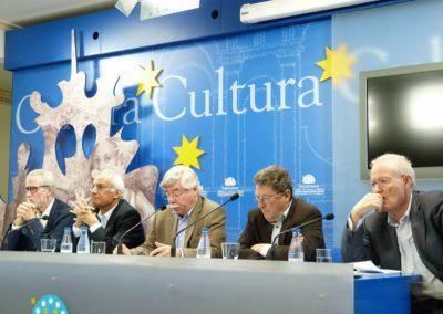 Francisco Blanco, Luis Andrés Marcos, Román Álvarez, Pablo Unamuno y Manuel Redero