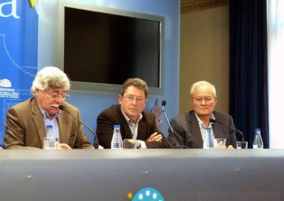 Román Álvarez, Pablo Unamuno y Manuel Redero